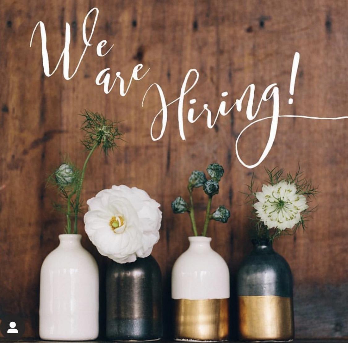 We're Hiring Retail  Associates! Portland & Portsmouth!