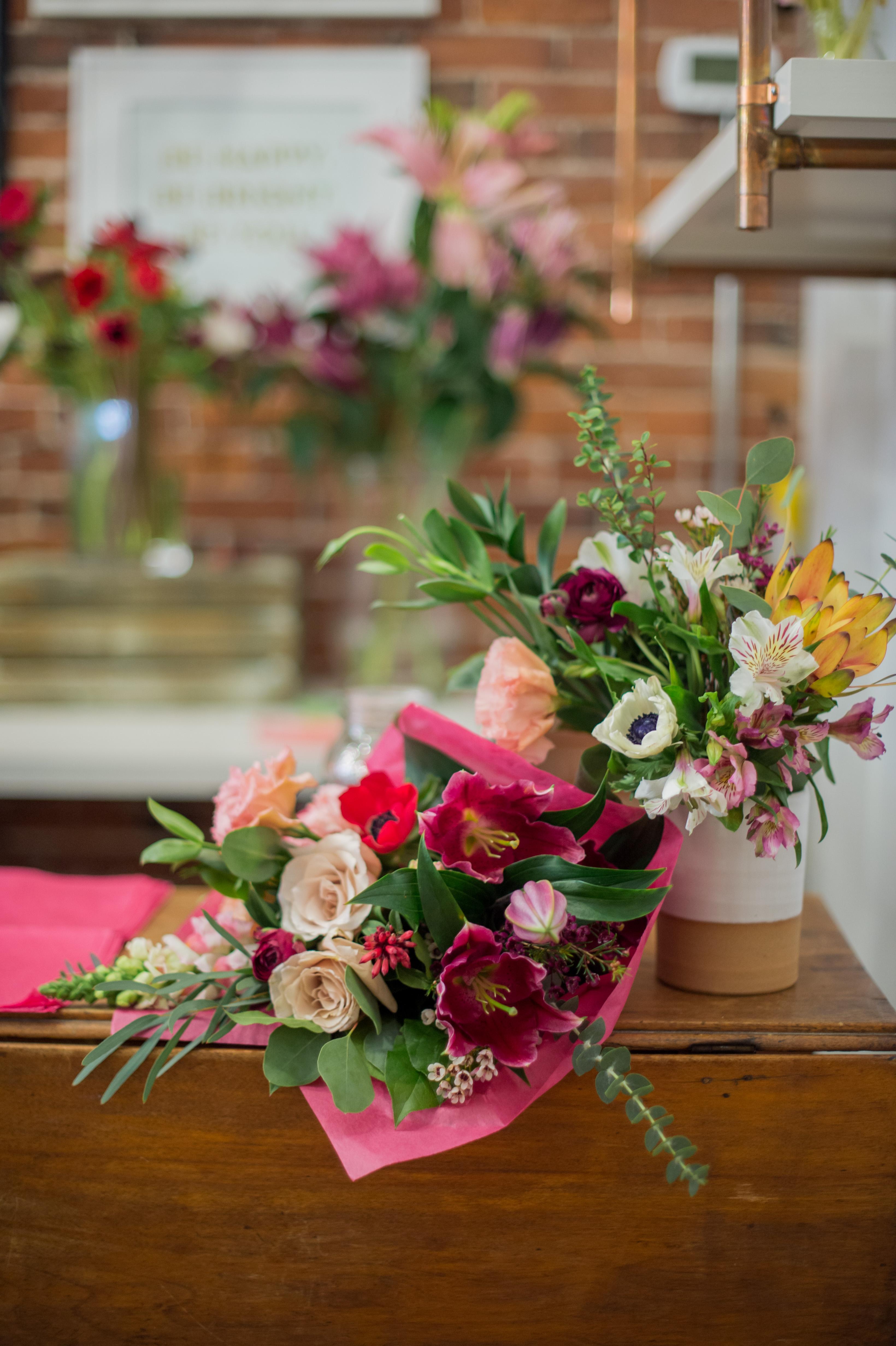 Valentine's Day Pop-Up Floral Shops